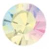 SS34 Gold Foiled Crystal Aurora Borealis